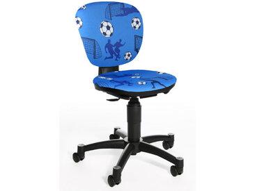MAXX KID - Chaise pivotante pour des enfants Bleu tissu