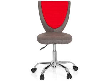 KIDDY COMFORT - Chaise pivotante pour des enfants gris /rouge