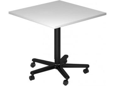 BISTRO 88Q D - Système de tables conférence Gris 80 x 80 noir