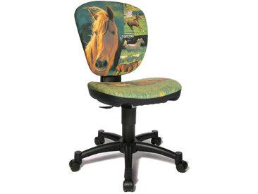 MAXX KID - Chaise pivotante pour des enfants Vert tissu