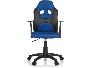 KID GAME AL - Chaise pivotante pour des enfants Noir / Bleu