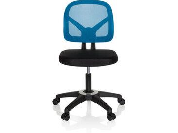 KID YU 100 - Chaise pivotante pour des enfants noir / bleu