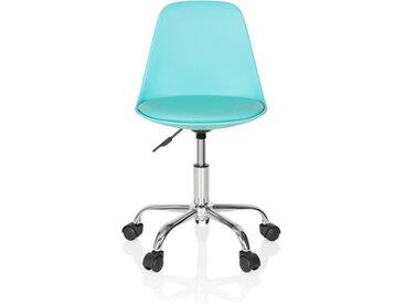FANCY II - Chaise pivotante pour des enfants turquoise