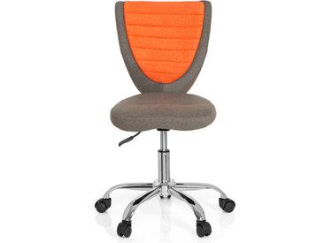KIDDY COMFORT - Chaise pivotante pour des enfants Gris / Orange