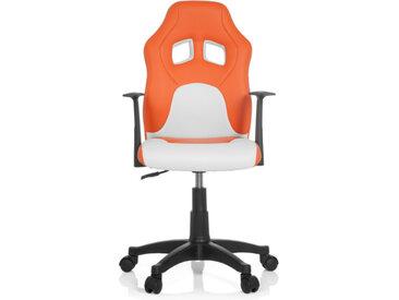 TEEN GAME AL - Chaise pivotante pour des enfants orange - blanc