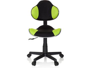 KIDDY GTI-2 - Chaise pivotante pour des enfants Noir / Vert