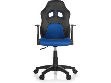 TEEN GAME AL - Chaise pivotante pour des enfants Noir / Bleu