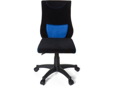 KIDDY PRO - Chaise pivotante pour des enfants Noir / Bleu