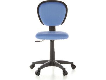 KIDDY TOP - Chaise pivotante pour des enfants bleu clair