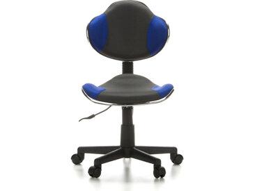 KIDDY GTI-2 - Chaise pivotante pour des enfants gris / bleu