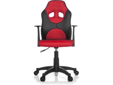 KID GAME AL - Chaise pivotante pour des enfants Noir / Rouge