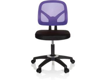 KID YU 100 - Chaise pivotante pour des enfants noir/violet
