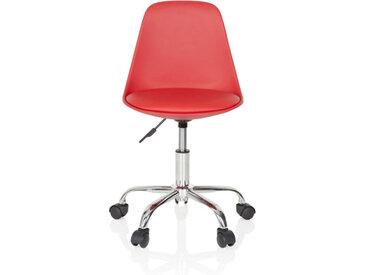 FANCY II - Chaise pivotante pour des enfants Rouge