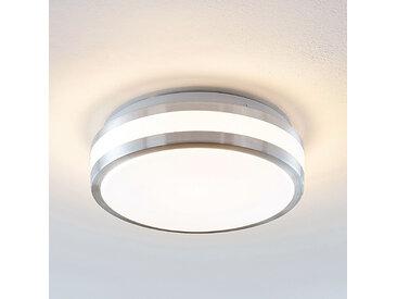 Lindby Nelia plafonnier LED, alu, rond, 29 cm