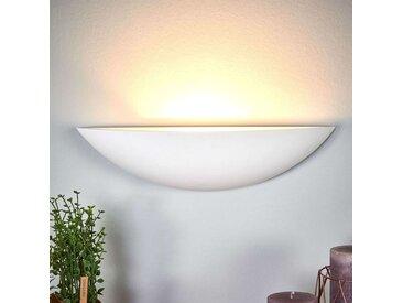 Applique en plâtre en forme de vasque Guilia– LAMPENWELT.com