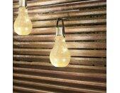 Lindby Shams lampe solaire LED, lot de 3