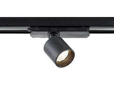 Arcchio Candra spot sur rail LED noir, 9W 3000K