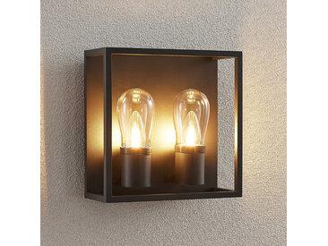 Lucande Irmgart applique d'extérieur à 2 lampes