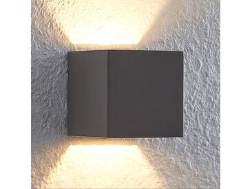 Lindby Quaso applique LED en béton, grise