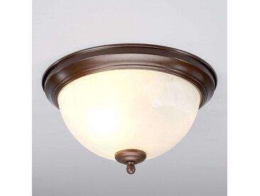 Plafonnier pour salle de bain Corvin rouille– LAMPENWELT.com