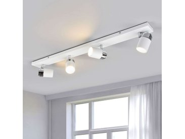 Plafonnier avec spots à 4 lampes Kardo, IP44