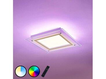 Plafonnier LED Curd CCT 37,5 x 37,5cm– LAMPENWELT.com