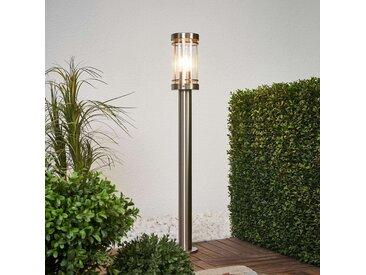 Borne lumineuse Djori en inox– LAMPENWELT.com