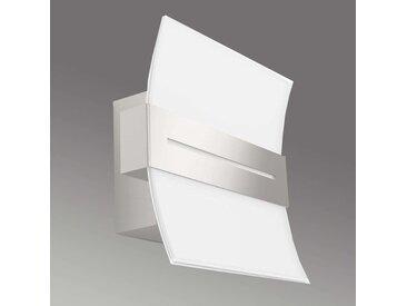 Applique LED décorative Brazos en verre
