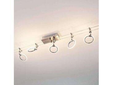 Éclairage LED sur câble Ritol à 5 lampes– LAMPENWELT.com