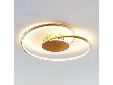 Lindby Joline plafonnier LED, doré, 45cm