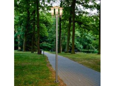 Lampadaire d'extérieur Filko à 3 lampes