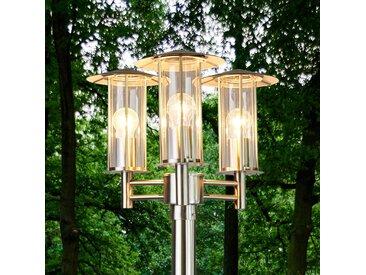 Lampadaire d'extérieur Filko à 3 lampes– LAMPENWELT.com