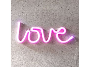 Inscription LED Love, USB, à piles– LAMPENWELT.com