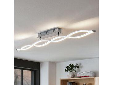Plafonnier LED Roan, en forme de vague