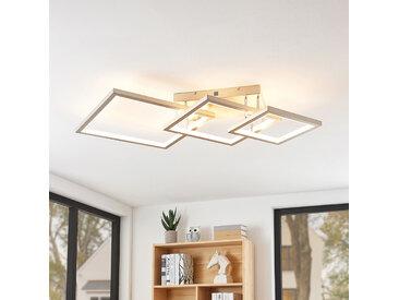 Lucande Avilara plafonnier LED avec 3 carrés