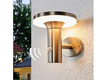 Applique solaire LED à détecteur Eliano– LAMPENWELT.com