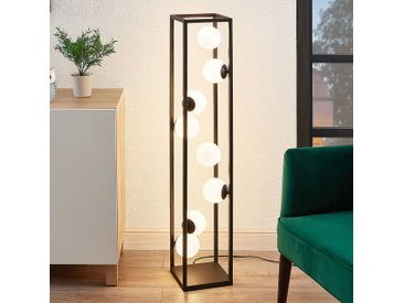 Lindby Utopia lampadaire LED avec sphères de verre