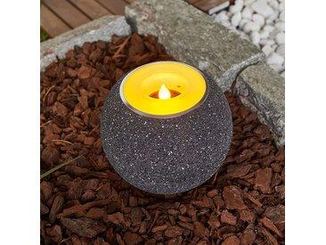 Bougie chauffe-plat LED solaire Dijan, vacillante– LAMPENWELT.com