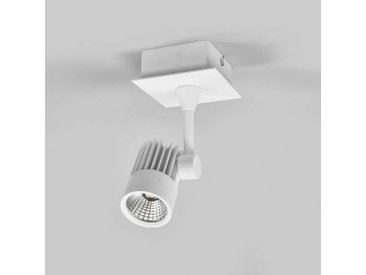 Spot LED encastrable Justus, saillie possible– LAMPENWELT.com