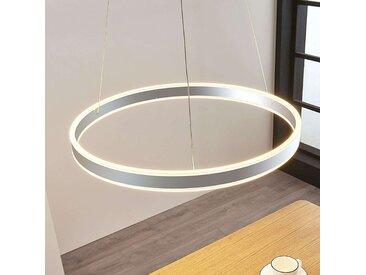 Suspension LED Lyani en chromé, dimmable, 60cm– LAMPENWELT.com