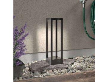 Lampe pour socle LED Carlota, gris foncé, 50cm– LAMPENWELT.com