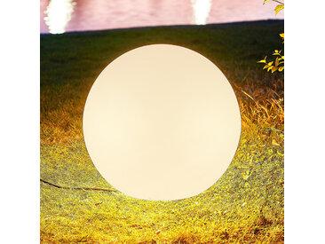 Arcchio Orlana boule lumineuse IP65 blanche 45cm
