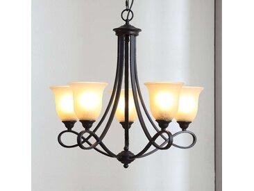 Lustre LED rustique Trisha– LAMPENWELT.com
