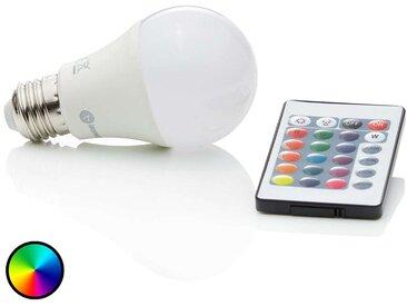 Ampoule LED RGBW E27 7 W, 500 lumens– LAMPENWELT.com