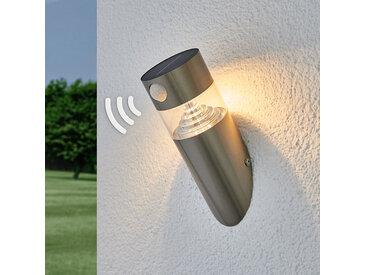 Applique LED solaire Kalypso, oblique et capteur