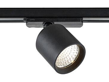 Arcchio Candra spot sur rail LED noir 26W 3000K