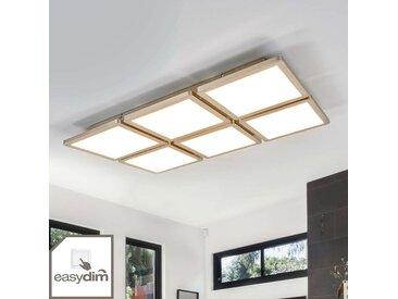 Plafonnier Aileen avec 6 carrés, LED Easydim– LAMPENWELT.com