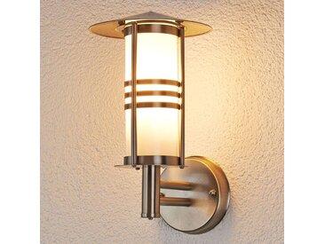 Très jolie applique d'extérieur Erina en inox – LAMPENWELT.com