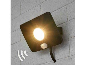 Projecteur d'extérieur LED Duke, alu, capteur, 20W– LAMPENWELT.com