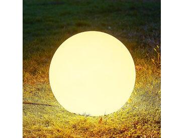 Arcchio Orlana boule lumineuse IP65 blanche 35cm